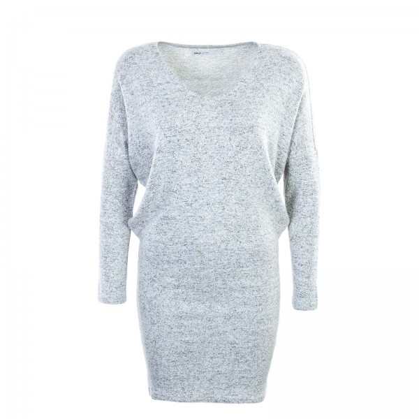 Only Dress Maye V Neck Grey