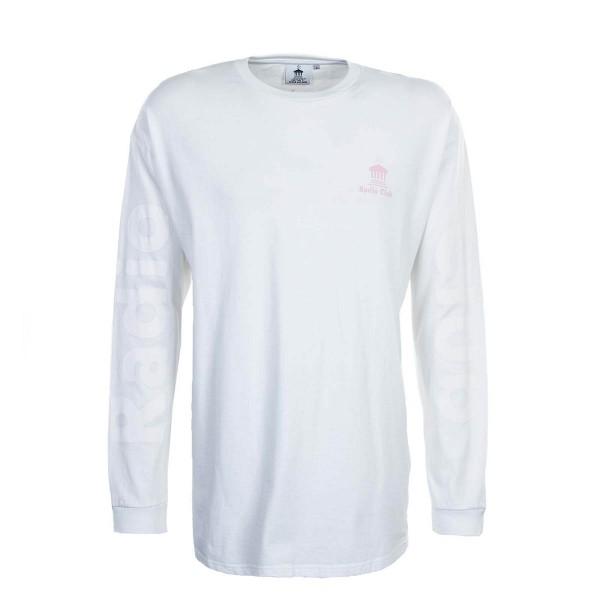 Carhartt LS Radio Club Athens White Pink
