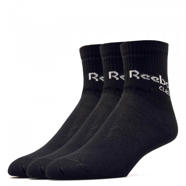 Reebok Socks 3Pk CL Core Crew Black