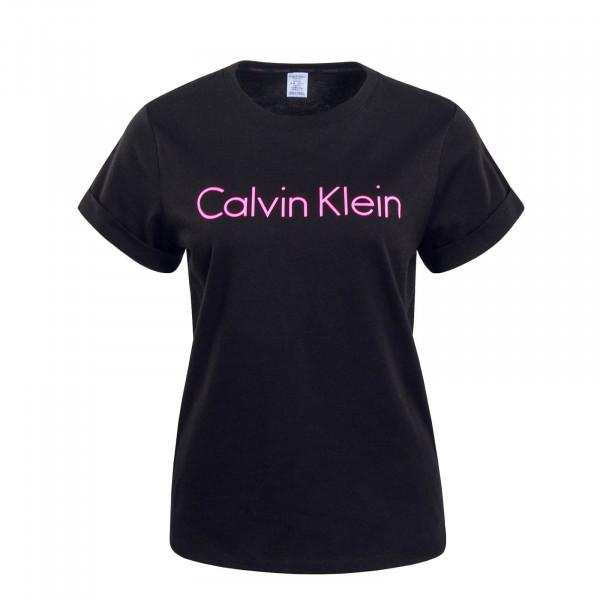 Damen T-Shirt 5789 Black Pink
