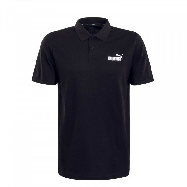 Herren Poloshirt Pique Black