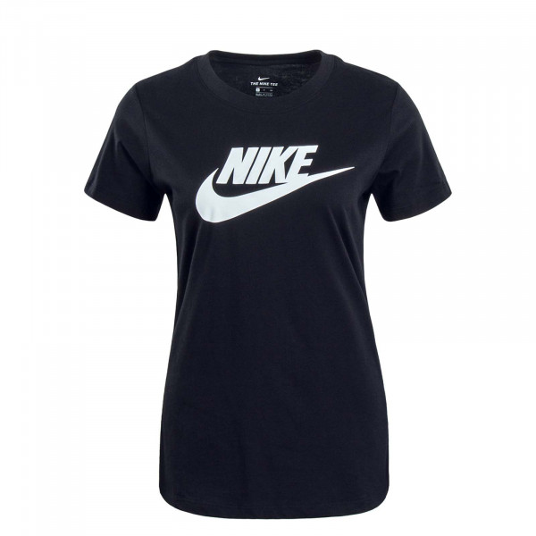 Damen T-Shirt Essential Icon Black White
