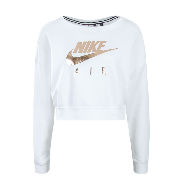Nike Wmn Crop Sweat Rally White Bronze