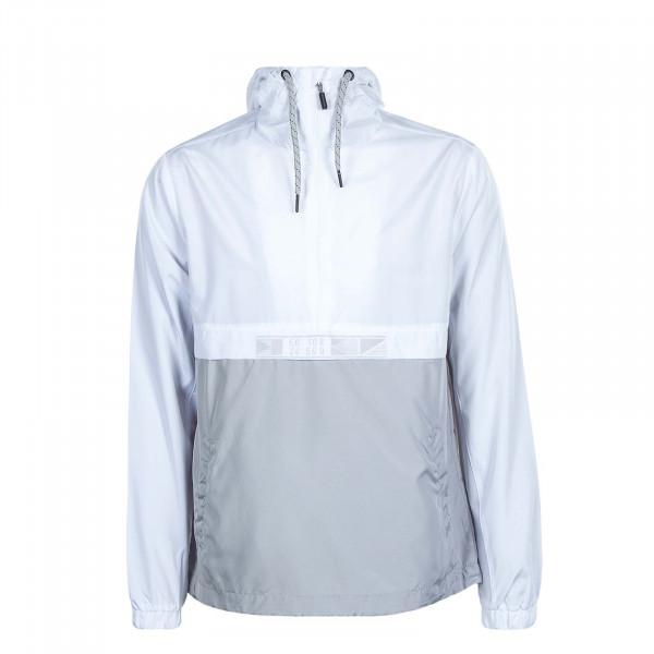 Herren-Breaker 3329 White Grey