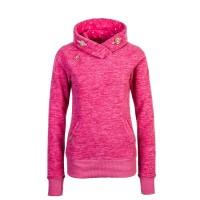 Ragwear Wmn Hoody Pink Melange