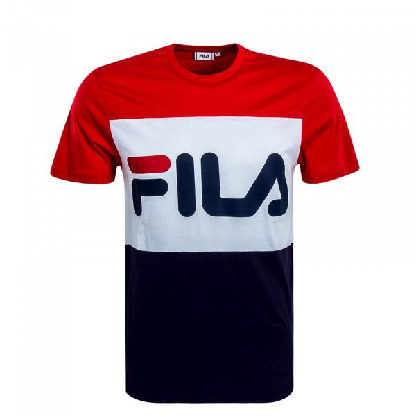 Herren T-Shirt Day Red White Navy