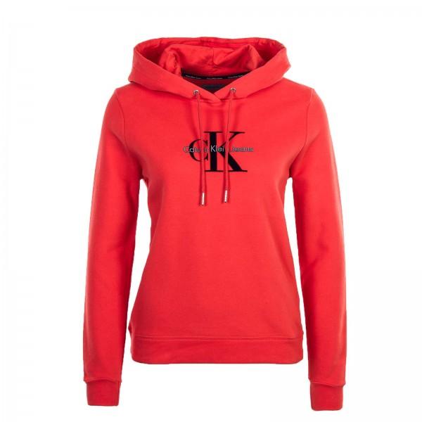 Calvin Klein Wmn Hoody Honor Red