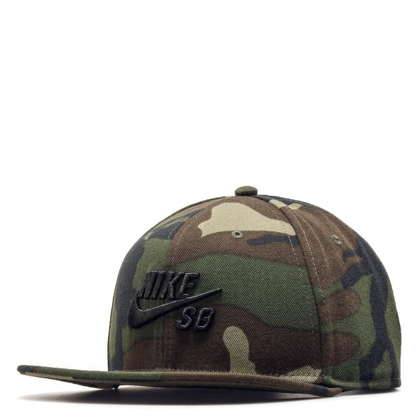 Nike SB Cap Icon Pro Olive Camo Black