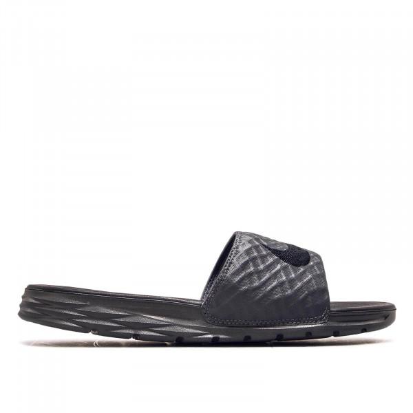 Nike Slide Benassi Solarsoft Grey Black