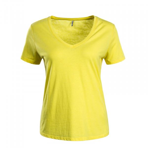 Damen T-Shirt Truly Yellow