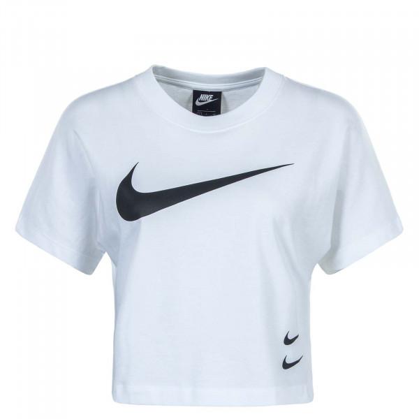 Damen T-Shirt NSW SWSH Top White