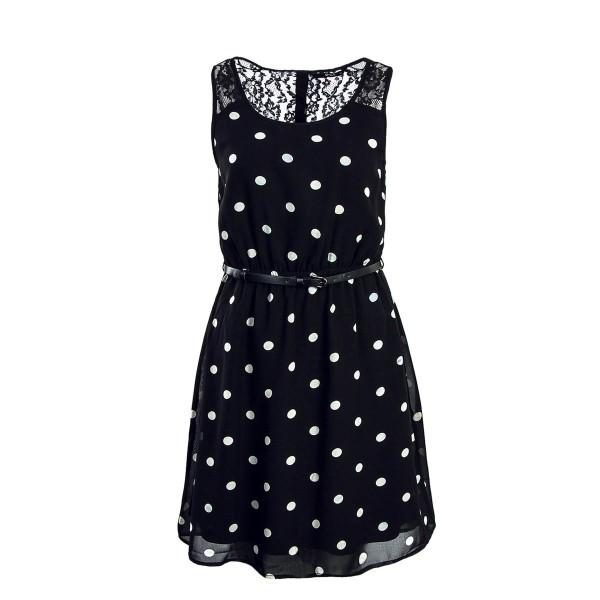 Only Dress Lia Lace Belt Black Point