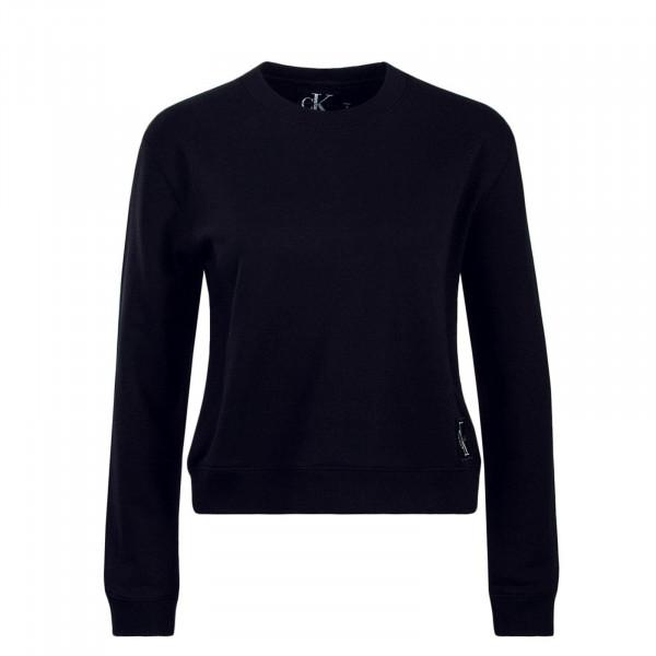 Damen Sweatshirt Boxy CN Monogram Black