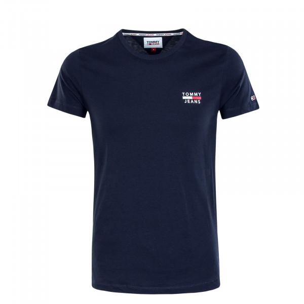 Herren T-Shirt TJM Chest Logo 7472  Twilight Navy