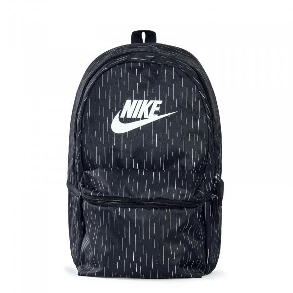 Nike Backpack Heritage Black Stripe