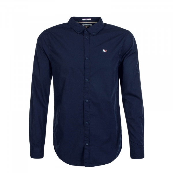 Herrenhemd 7926 Light Poplin Navy