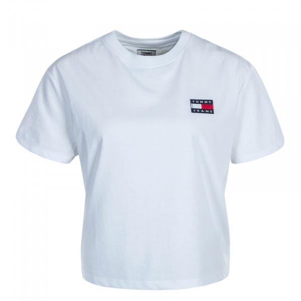 Damen T-Shirt Badge 6813 White