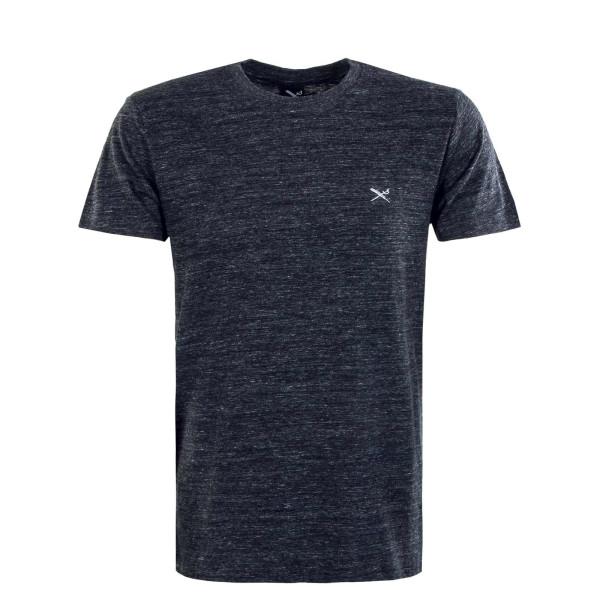 Herren T-Shirt - Chamisso - Black / Anthrazit