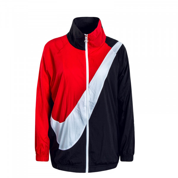 Damen Jacke Swoosh NSW Black Red
