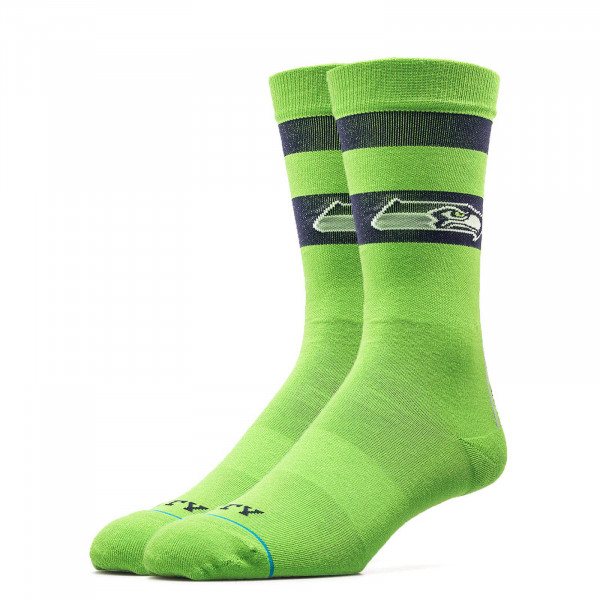 Stance Socks NFL Seahawks Em City Green