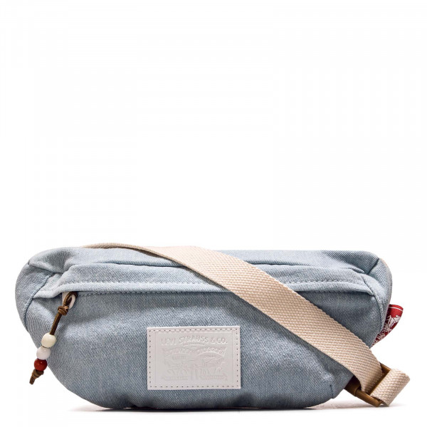 Hip Bag Banana Sling Denim Light