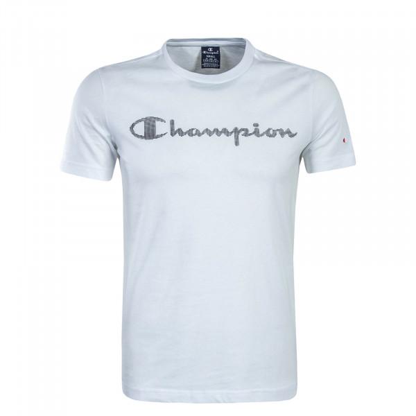 Herren T-Shirt 211996 White Black