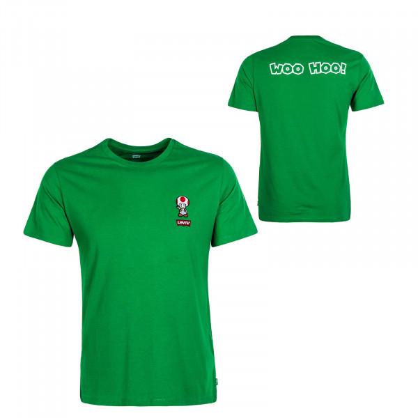 Herren T-Shirt Graphic Toad Green