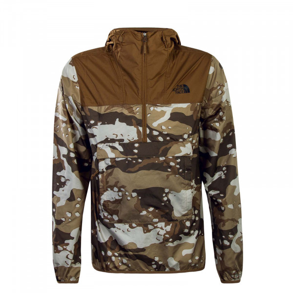 Herren Breaker Nvlty Camouflage Brown