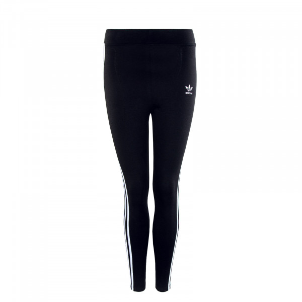 Damen Leggings - 3 Stripes - Black White