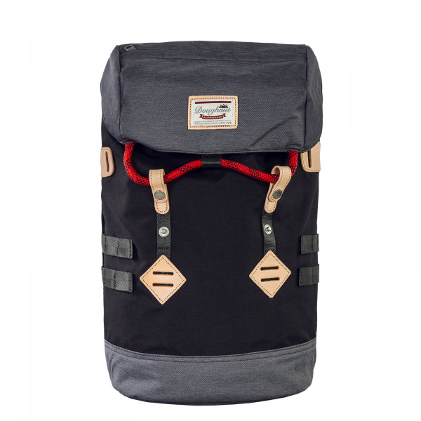 Doughnut Backpack Colorado Black Grey