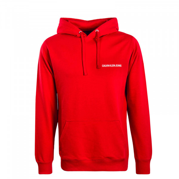 Herren Hoody Small Instit Red