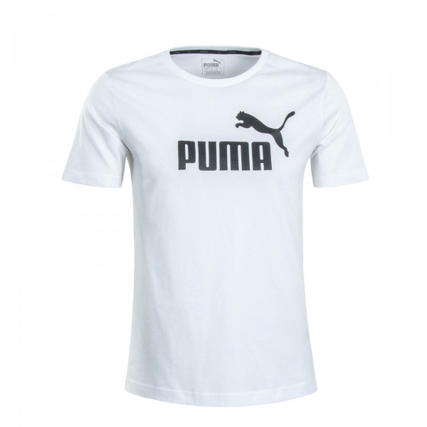 Herren T-Shirt Logo White