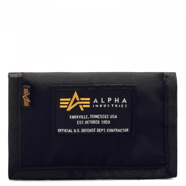 Alpha Wallet Crew Black