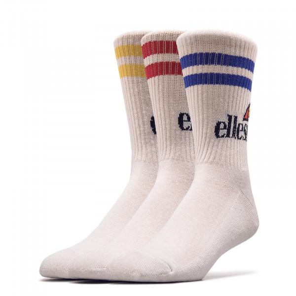 3er-Pack Socken Pullo White Multi