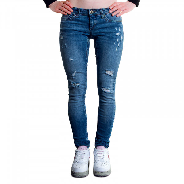 Damen Jeans - Coral Skinny Dest Medium - Blue