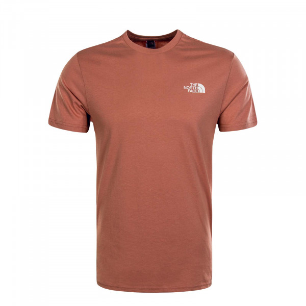 Herren T-Shirt Simple Dome Pink