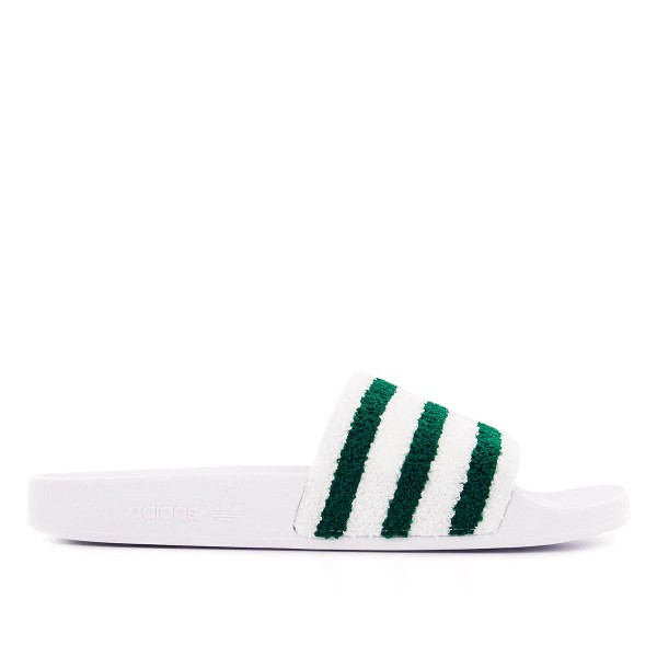 Adidas Adilette Core White Green