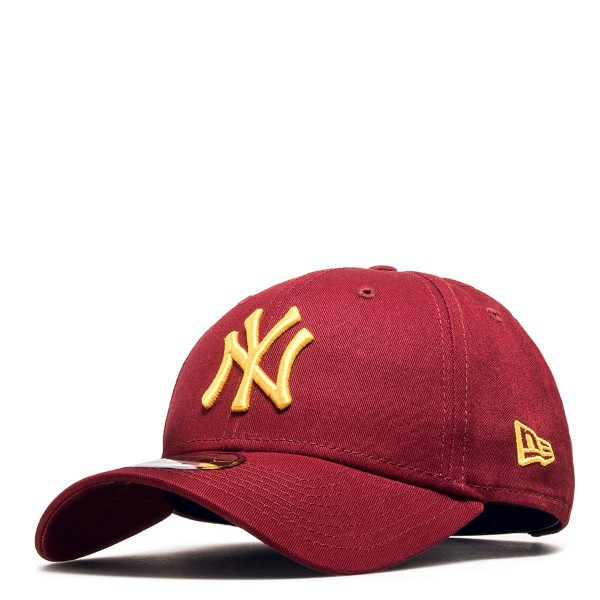 New Era Cap 9Forty NY Bordo Yellow