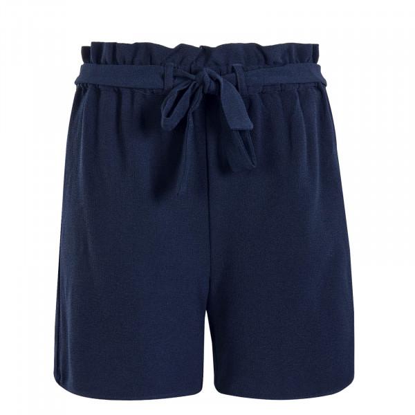 Damen Short Turner Paper Bag Blue