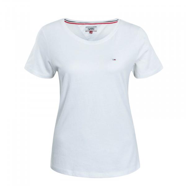 Damen T-Shirt Soft Jersey White