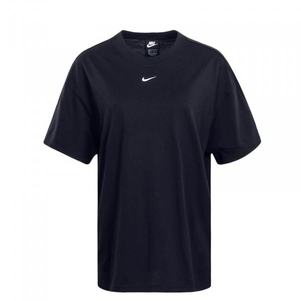 Damen T-Shirt NSW Essential Black White