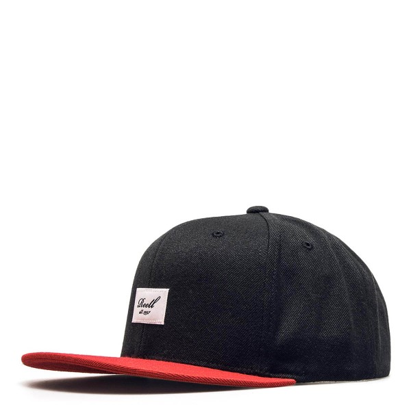 Reell Cap Pitchout 6Panel Black Red