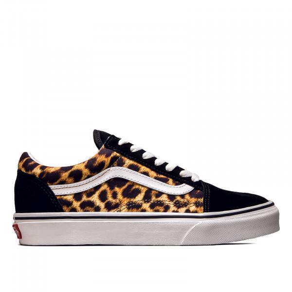Damen Sneaker - Old Skool Leopard - Black / True White