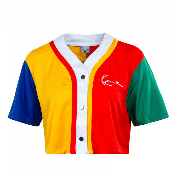 Damen T-Shirt - Small Signature Baseball - Block