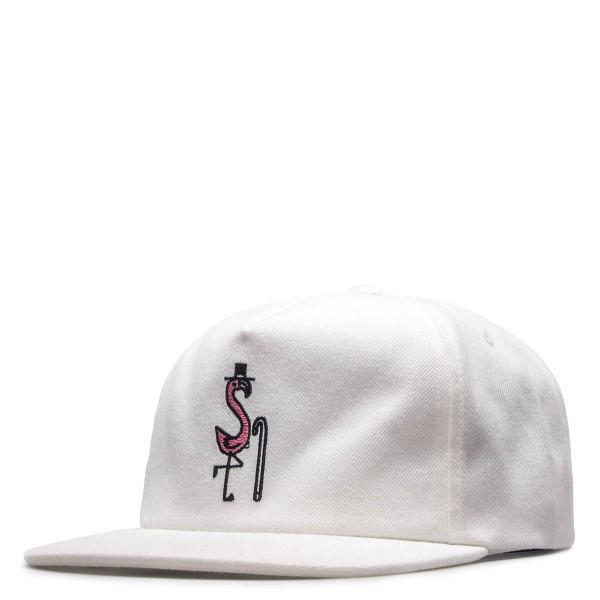 Stüssy Cap Flamingo White