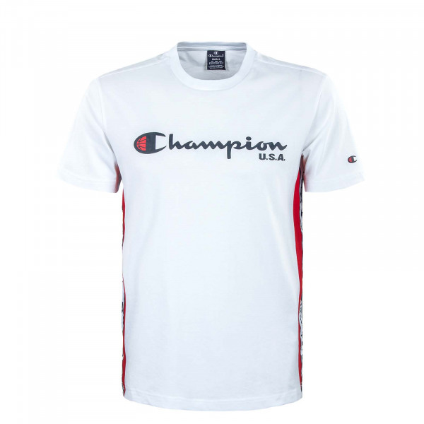Herren T-Shirt  - Crewneck - White