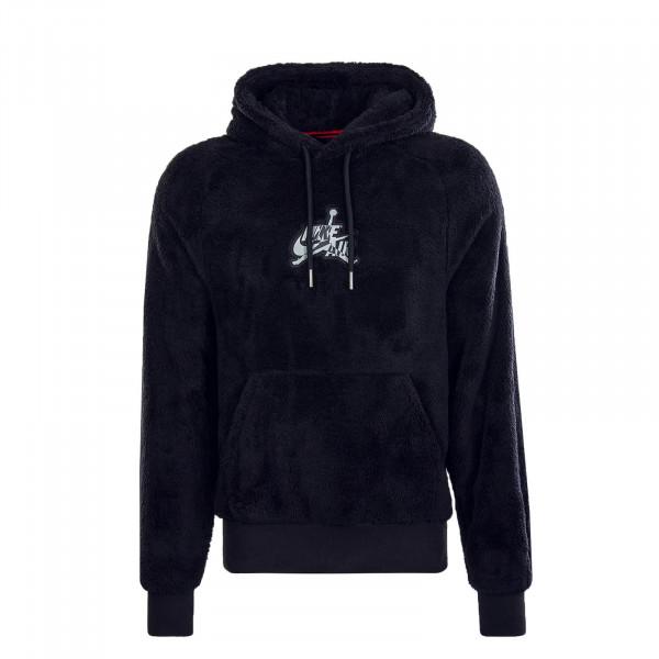 Herren Hoody Wings Sherpa Black