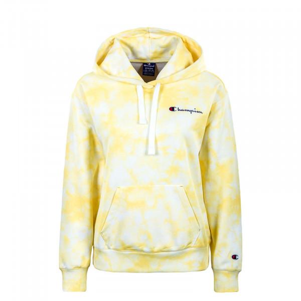 Damen Hoody - Crewneck 113934 - White / All / Yellow