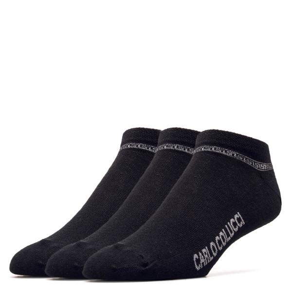 Socken Sneaker Amalfi Black