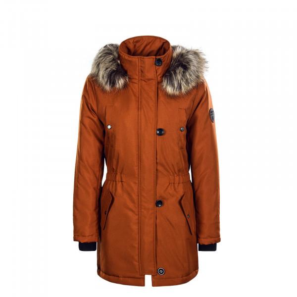 Damen Mantel - Iris Fur - Brown